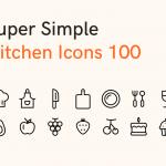100个厨房图标