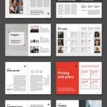 商业计划书排版布局设计模板