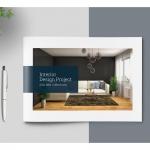 室内设计宣传册目录图册模板