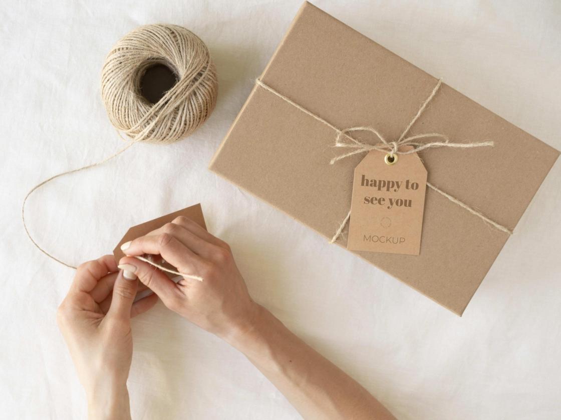 合成与工艺盒标签模型免费 Psd