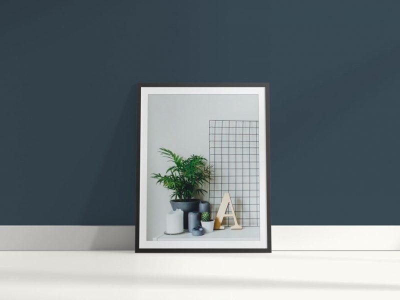 照片展示线框样机(PSD)